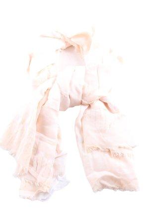 edc Écharpe d'été rose-orange clair style décontracté