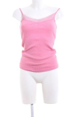 edc Top con bretelline rosa stile casual