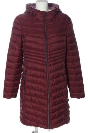 edc Pikowana kurtka czerwony Pikowany wzór W stylu casual