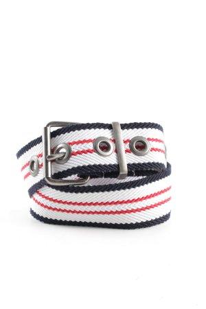 edc Cintura in tessuto motivo a righe stile casual