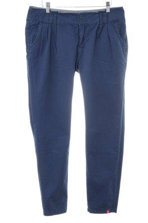 edc Stoffhose blau Casual-Look