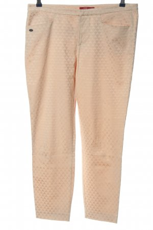 edc Stoffhose nude grafisches Muster Casual-Look