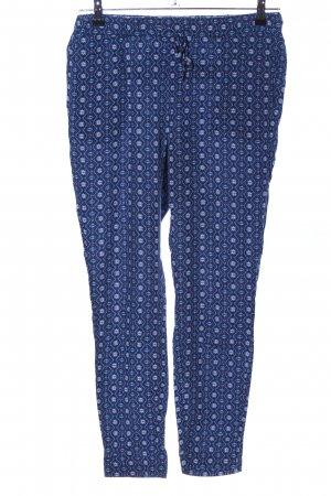 edc Stoffhose blau Allover-Druck Casual-Look