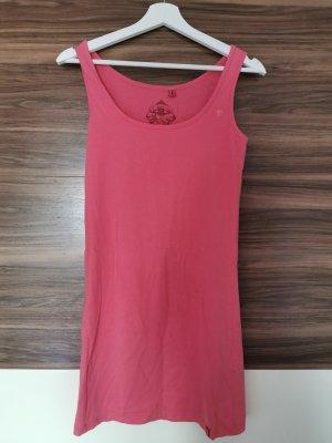 Edc Esprit Sweat Dress raspberry-red-pink