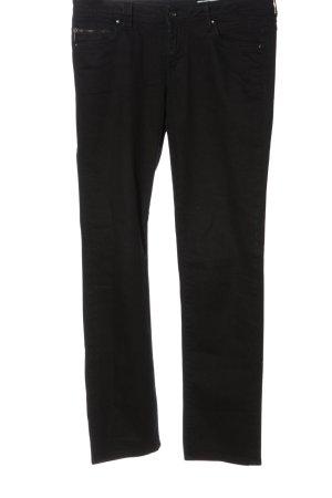 edc Straight-Leg Jeans schwarz Casual-Look