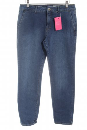 edc Straight-Leg Jeans blau Casual-Look