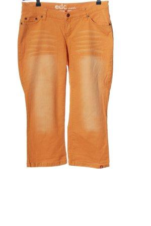 edc Straight-Leg Jeans hellorange Casual-Look