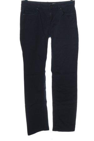 edc Jeansy z prostymi nogawkami niebieski W stylu casual