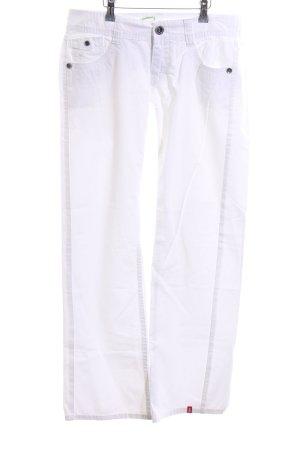 edc Straight-Leg Jeans weiß Casual-Look