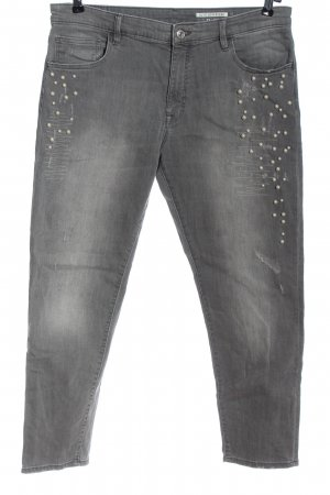 edc Straight-Leg Jeans hellgrau Casual-Look