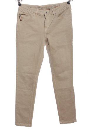 edc Jeansy z prostymi nogawkami brązowy W stylu casual