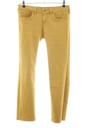 edc Straight-Leg Jeans blassgelb Casual-Look