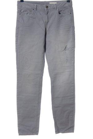 edc Jeansy z prostymi nogawkami jasnoszary W stylu casual