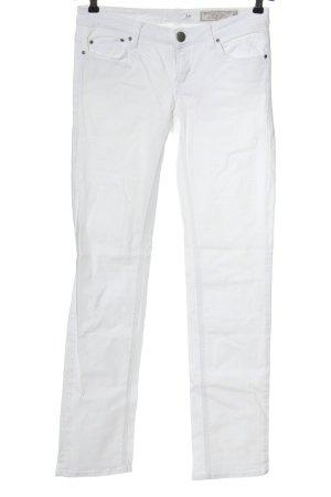 edc Jeansy z prostymi nogawkami biały W stylu casual