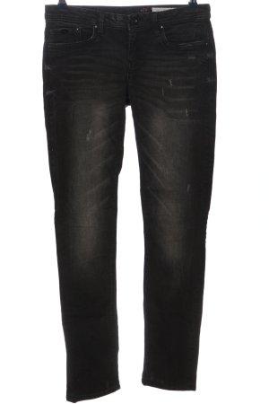 edc Jeansy z prostymi nogawkami czarny W stylu casual