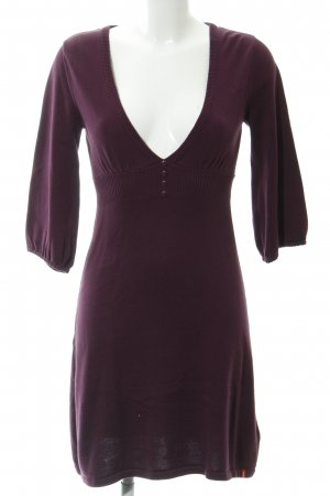 edc Knitted Dress purple casual look