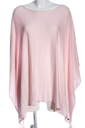 edc Knitted Poncho pink casual look
