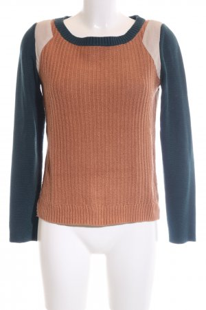 edc Strickpullover Zopfmuster Casual-Look