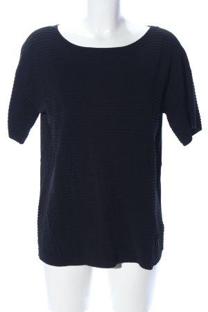 edc Strickshirt blau Casual-Look