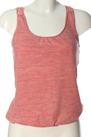 edc Stricktop pink meliert Casual-Look
