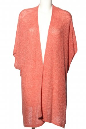 edc Strickweste pink Zopfmuster Casual-Look