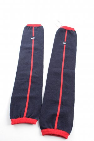 edc Legwarmers blue-red striped pattern athletic style