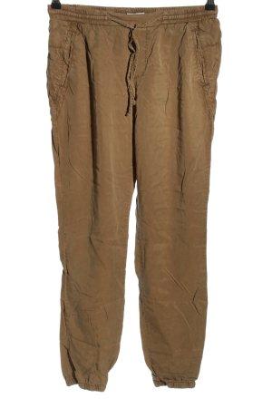 edc Pantalon de jogging brun style décontracté