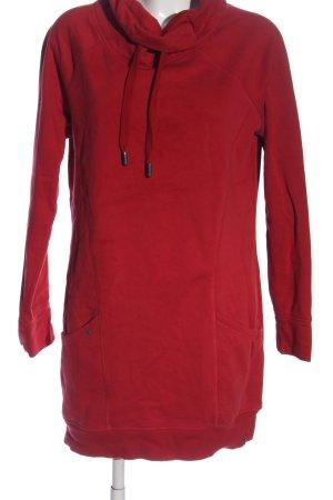 edc Sukienka dresowa czerwony W stylu casual