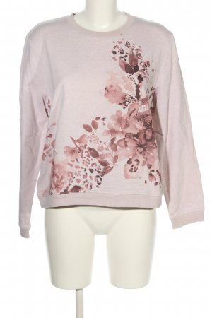edc Sweatshirt pink Motivdruck Casual-Look