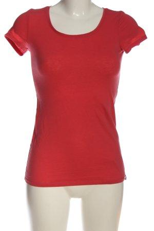 edc T-Shirt rot Casual-Look