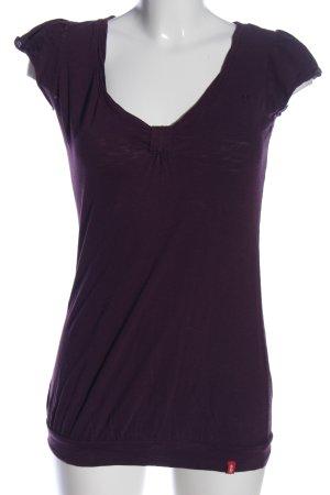 edc T-Shirt lila Casual-Look