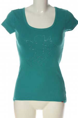 edc T-Shirt grün Casual-Look