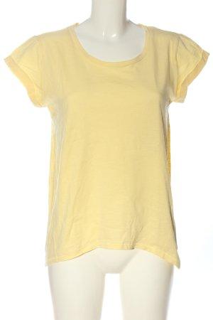 edc T-Shirt blassgelb Casual-Look