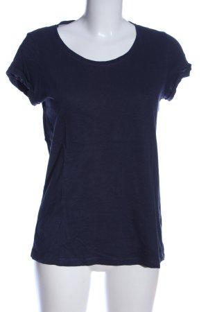 edc T-Shirt blau Casual-Look