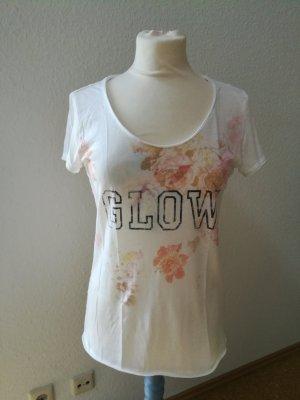 edc T-Shirt Blumen Glow
