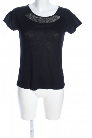 edc T-Shirt schwarz Casual-Look