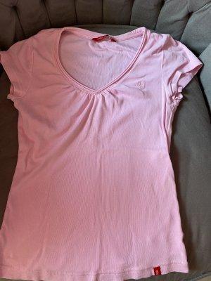 edc by Esprit Camisa con cuello V rosa-rosa claro