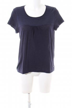 edc T-Shirt blau Casual-Look