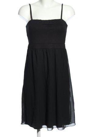 edc Trägerkleid schwarz Elegant