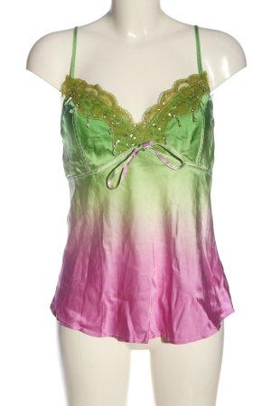 edc Trägertop grün-pink Farbverlauf Casual-Look