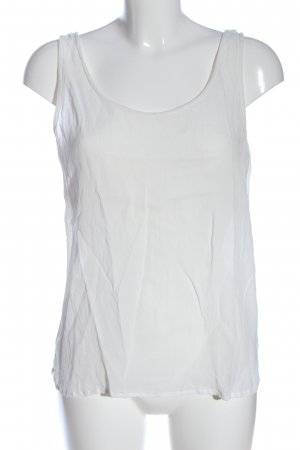 edc Top basic biały W stylu casual