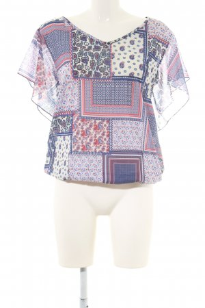 edc Tunikabluse grafisches Muster Casual-Look