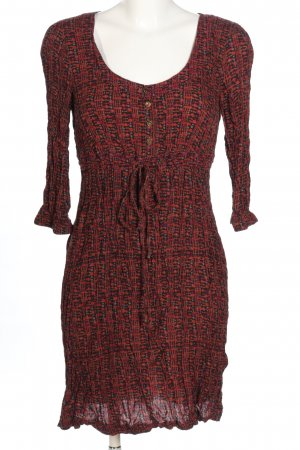edc Tunic Dress abstract pattern casual look