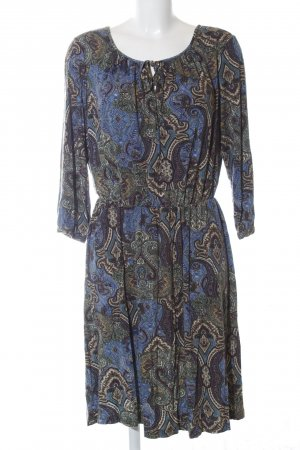 edc Vestido tipo túnica Mezcla de patrones elegante