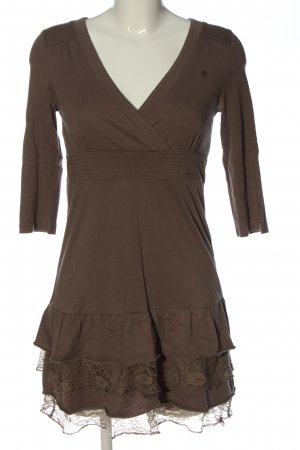edc Flounce Dress brown casual look