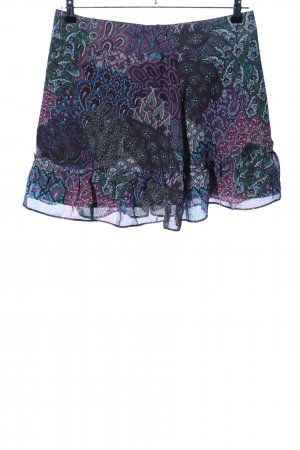 edc Flounce Skirt mixed pattern elegant