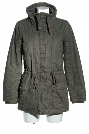 edc Winterjacke khaki Casual-Look
