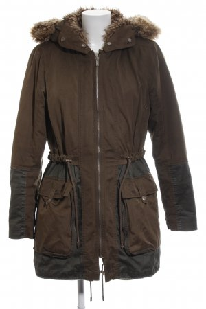 edc Winterjacke braun Casual-Look