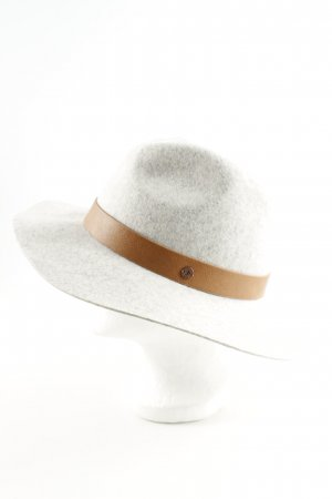 edc Woolen Hat light grey-brown flecked business style