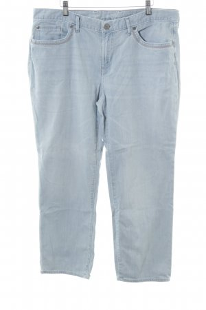 Eddie Bauer Jeans a 3/4 azzurro Tessuto misto